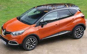 Wallpaper Renault, Captur, crossover