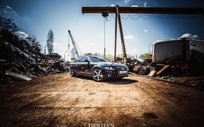 Picture machine, auto, Audi, before, sedan, auto, scrap, sedan, Kursk