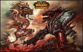 Picture Girl, WoW, Warcraft, Dragon, anime, Elf