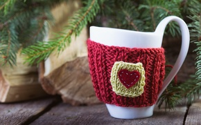 Picture Christmas, Cup, tree, decor