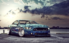 Picture Mustang, Ford, Car, 2015, Stancing