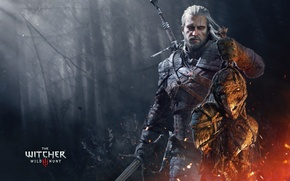Picture sword, head, the Witcher, killer, Geralt, The Witcher 3: Wild Hunt, Witcher 3: Wild Hunt, …