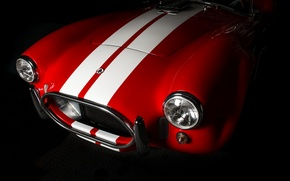 Picture vintage, Garage, AC Cobra