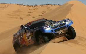 Picture Volkswagen, Touareg Race, the overcoming of the dune