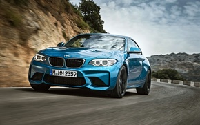 Picture BMW, coupe, BMW, blue, F87