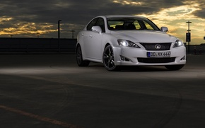 Picture Lexus, white, 250