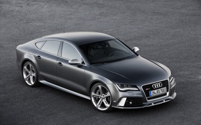 Picture Audi, Car, Drives, RS7