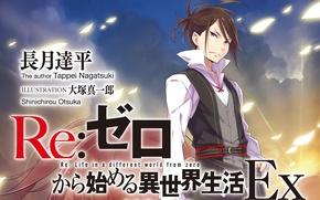 Picture anime, art, guy, swordsman, Re: Zero kara hajime chip isek or Seikatsu, From scratch