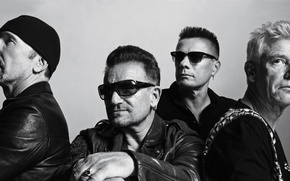 Picture 2014, Adam Clayton, The Edge, Bono, Songs of Innocence, Larry Mullen Jr.