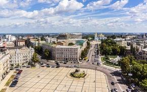 Picture the city, photo, home, monument, Ukraine, Kiev