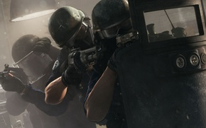 Picture weapons, shield, special forces, Rainbow six: Siege