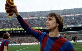 Picture Netherlands, legend, Wallpaper, Barcelona, striker, soccer_netherlands_legacy_holland, Johan Cruyff, 2560x1920, johan cruyff, fc_barcelona nou camp