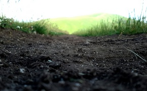 Picture road, background, earth