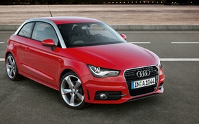 Picture Audi, Red, Class S
