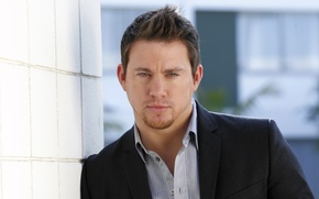 Picture portrait, costume, actor, shirt, jacket, Channing Tatum, Channing Tatum