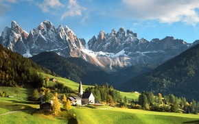 Picture mountains, italy, dolomites