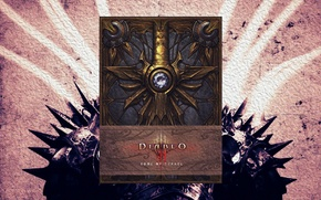 Picture Blizzard, Diablo III, Angel, Game, Book, Book of Tyrael, Tyrael