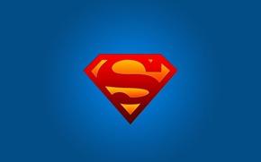Picture logo, symbol, superman, Superman, superhero