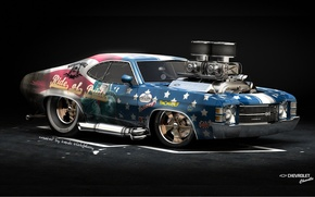 Picture Car, American Muscle, Hod Rod, Chevrolet Chavelle SS
