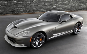 Picture background, Dodge, Dodge, supercar, Viper, the front, GTS, Viper, SRT, Special Edition, Anodized Carbon