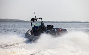 Picture boat, speed boat, RIB, BK-10