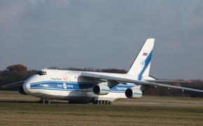 Wallpaper An-124, Ruslan, transport aircraft, An-124-100 Ruslan