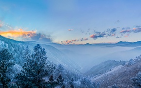 Picture mountains, Colorado, panorama, Colorado, Rocky mountains, Rocky Mountains, Front range, Front Range
