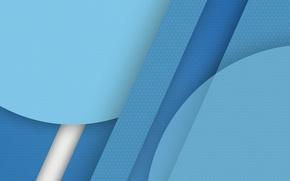 Picture white, line, circles, blue, material, Lollipop