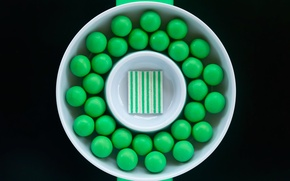 Picture gum, mint, chewing