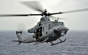 Picture helicopter, multipurpose, Venom, Bell UH-1Y