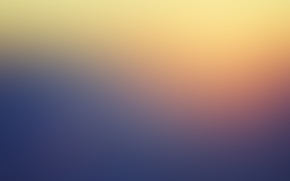 Picture sunset, background, yellow, blue