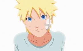 Picture white, game, happy, Naruto, smile, anime, blue eyes, man, boy, blonde, ninja, hero, asian, cute, …