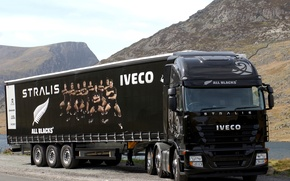 Picture Black, Truck, Tractor Truck, Other, IVECO
