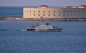 "Picture boat, Navy, The black sea, Sevastopol, ""Rook"", anti-sabotage"