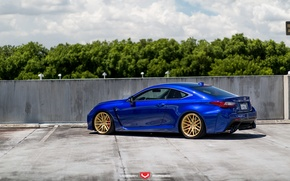 Picture machine, auto, the sky, Lexus, wheels, drives, auto, Forged, side, 2015, Vossen Wheels, VPS-308