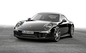 Wallpaper 2015, Carrera, Coupe, Black, coupe, Porsche, black, 911, Porsche