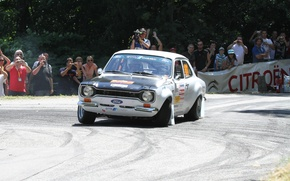 Picture Ford, turn, skid, Race, Escort, Ford Escort Mk1, Rallye du Tessin