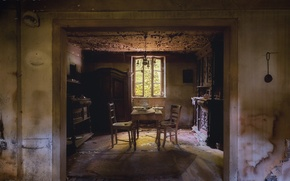 Picture room, interior, dining room