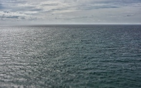 Picture mood, the ocean, horizon