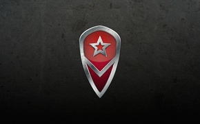 Picture logo, army, Russia