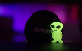 Picture macro, alien, nikon