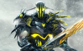 Wallpaper Hero, armor, sword