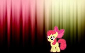 Wallpaper pony, Apple bloom, cartoon