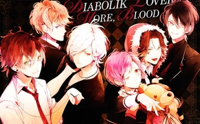 Picture vampire, guys, Diabolik Lovers