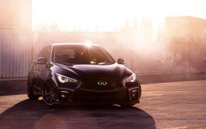 Picture the sun, William Stern, Blik, car, Infiniti Q50S