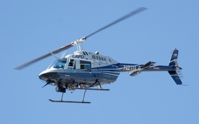 Picture the sky, flight, easy, helicopter, screws, multipurpose, Bell Helicopter Textron Company, 206 JetRanger