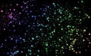 Wallpaper color, Shine, stars, Space, sequins