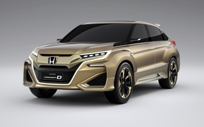 Picture the concept, Honda, Honda, 2015, Concept D