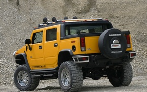 Picture hammer, jeep, SUV, Hummer H2 SUT