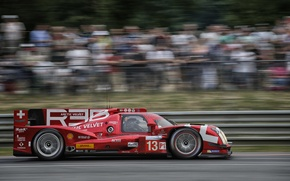 Picture Red, Profile, Blur, WEC, 24H Le Mans